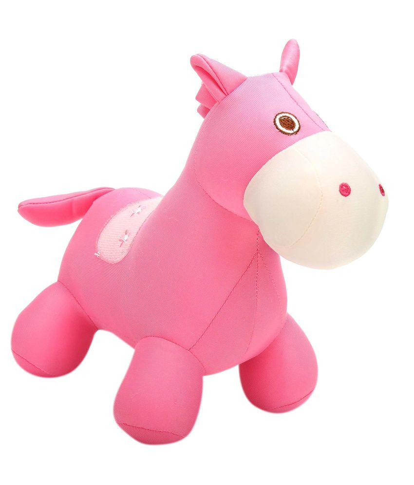 Tickles Pink Stuffed Animal