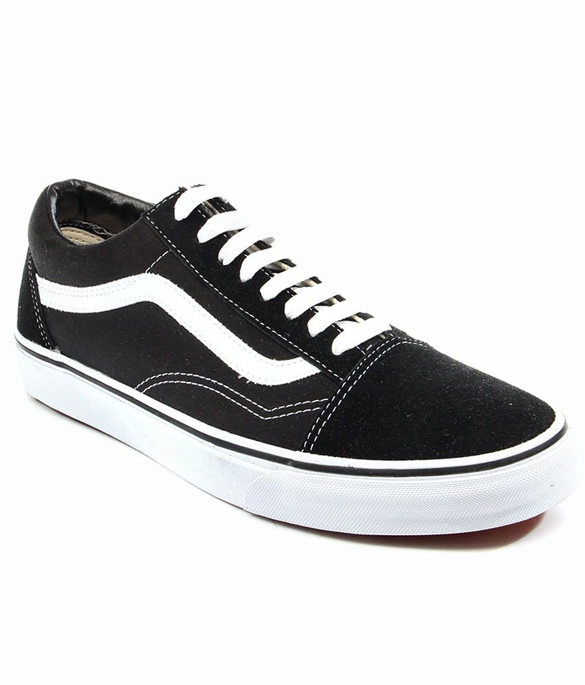 5ff3b4c579dc86 Vans Old Skool Black Casual Shoes Price in India- Buy Vans Old Skool Black  Casual Shoes Online at Snapdeal