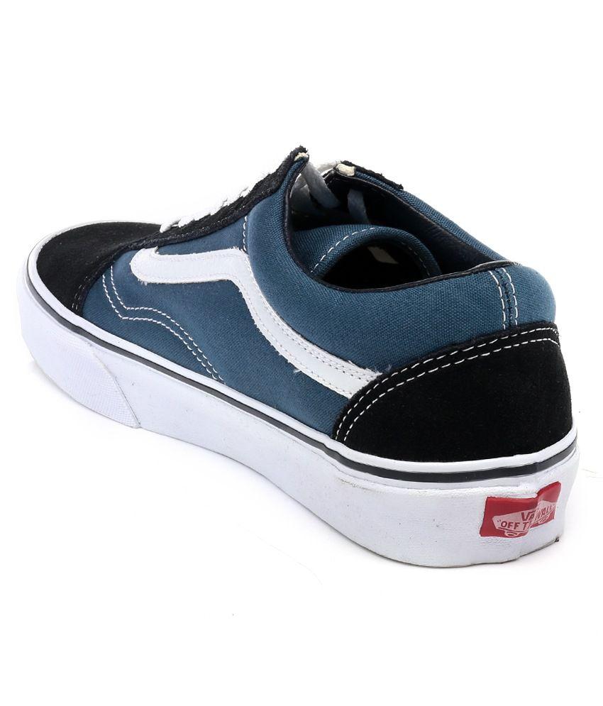 vans old skool blue casual shoes