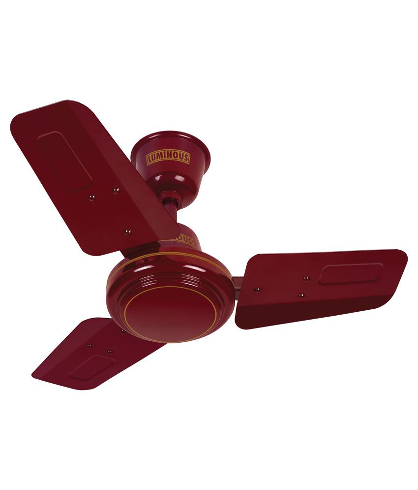 Luminous 600mm Rapid Ceiling Fan Brown