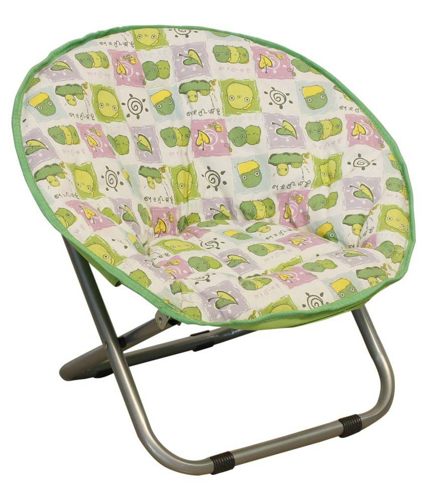 Kids Folding Moon Chair in Green Buy line at Best Price in India on Snapdeal
