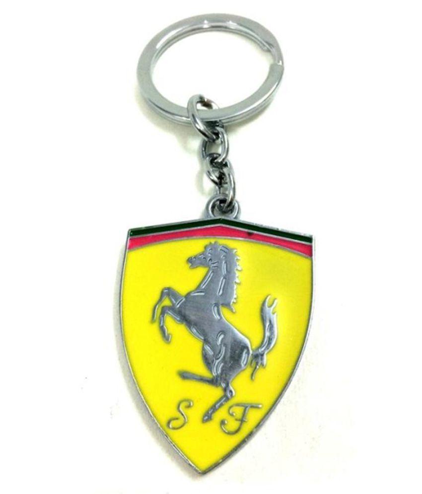 I,gadgets Ferrari Metal Keychain