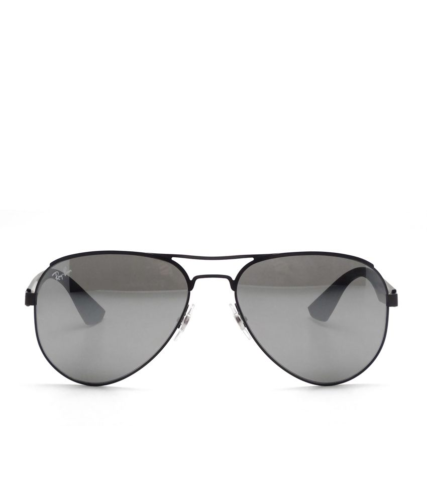 c57dbd302e0 Ray-Ban Rb3523 006 6g Silver Aviator Sunglass - Buy Ray-Ban Rb3523 006 6g  Silver Aviator Sunglass Online at Low Price - Snapdeal