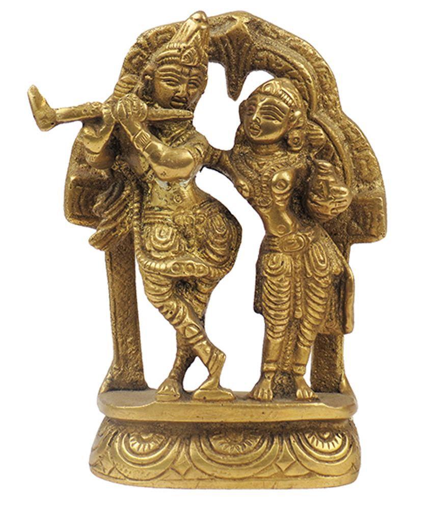 Surya Art Gallery Glossy Brass God Idol