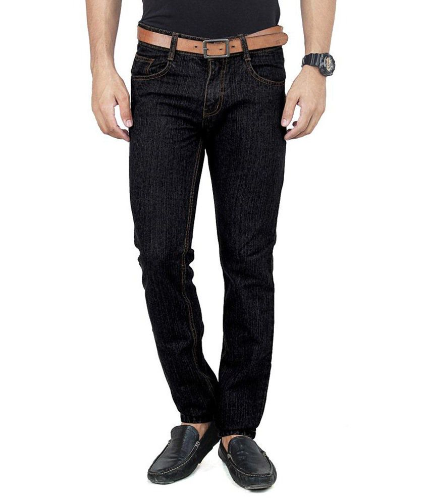 Uber Urban Black Regular Fit Jeans