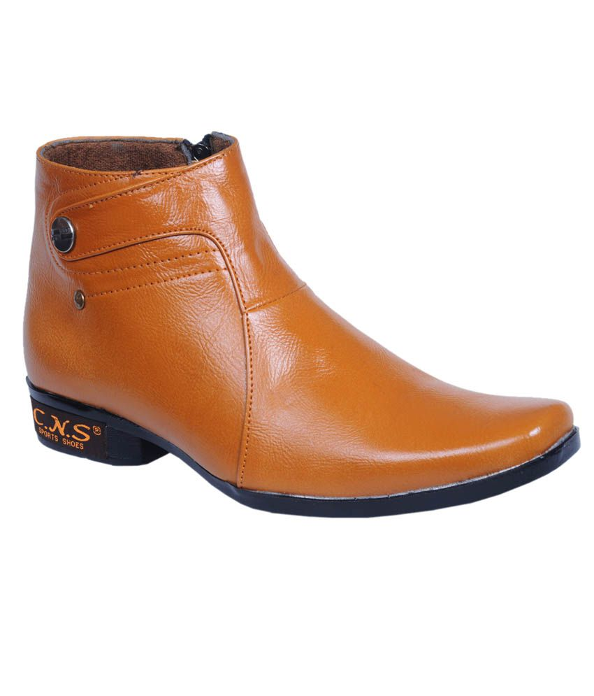 CNS Shoes Tan Boots