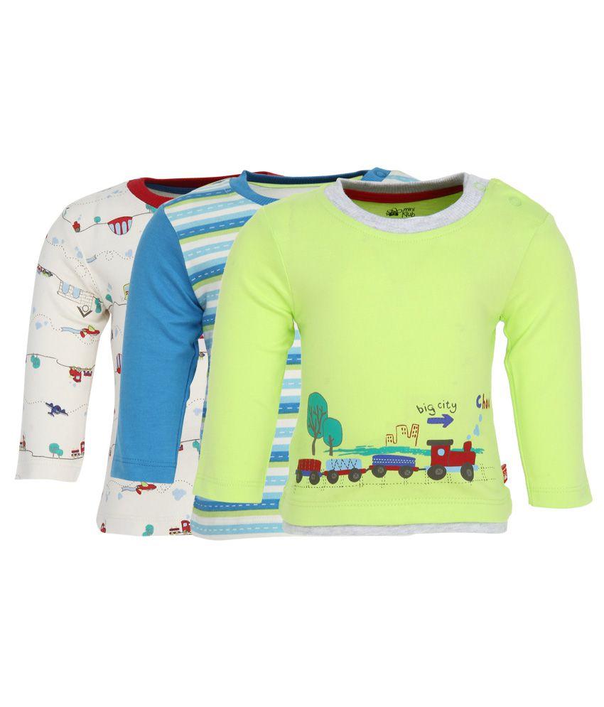 FS MiniKlub Pack Of 3 T-Shirts