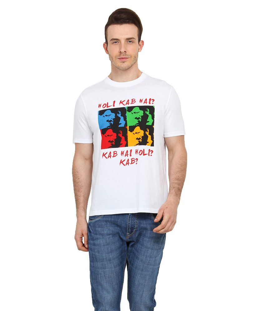 Filmwear White Cotton T-Shirt