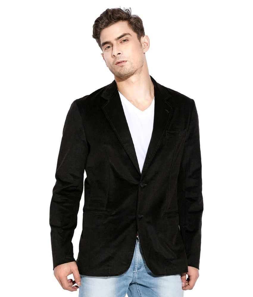 Mufti Brown Casual Blazer - Buy Mufti Brown Casual Blazer Online At Best Prices In India On Snapdeal