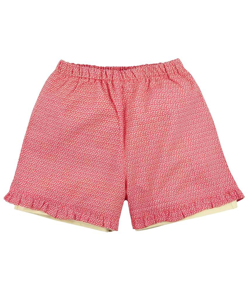 Oye Pink Frill Shorts for Girls