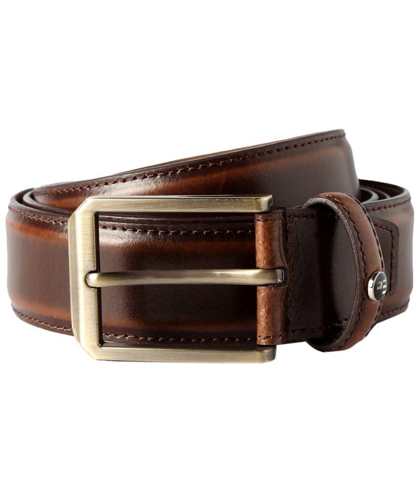Peter England Brown Formal Belt
