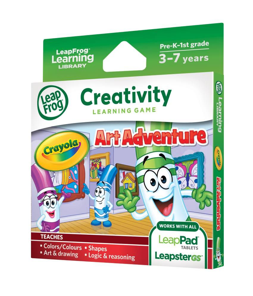 Leap Frog Crayola Art Adventure