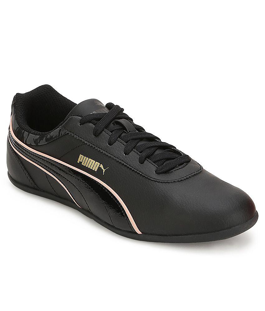 Puma Myndy Ballerina (Black Black 03): : Schuhe
