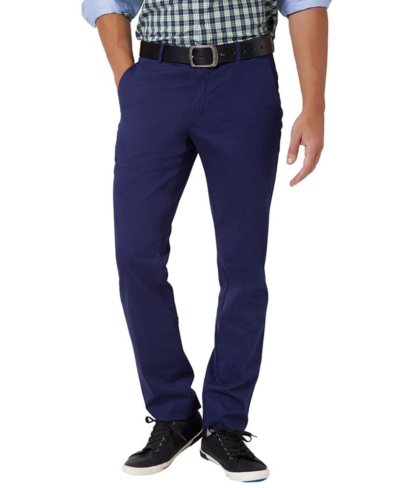 University of Oxford Blue Trousers