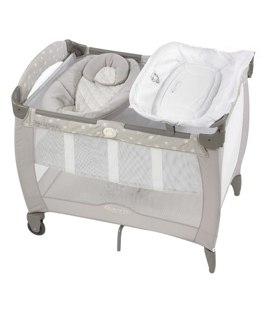 Graco Pack  n Play Contour Electra Bassinet with Napper   Bear   Friends. Graco Pack  n Play Contour Electra Bassinet with Napper   Bear