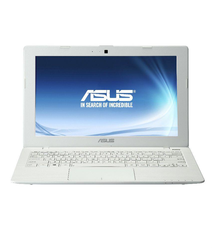 Asus X200MA-KX237D Netbook (Intel Celeron- 2GB RAM- 500GB HDD- 29.46cm (11.6) - DOS) (White)