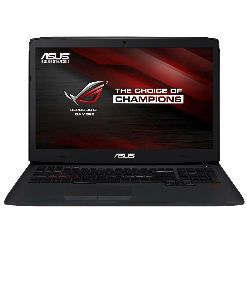 Asus ROG Series G751JL-T3024P Touchscreen Notebook (4th Gen Core i7- 24GB RAM- 1 TB HDD- 43.94 cm (17.3)- Windows 8.1 Pro- 2GB Graphics) (Black)