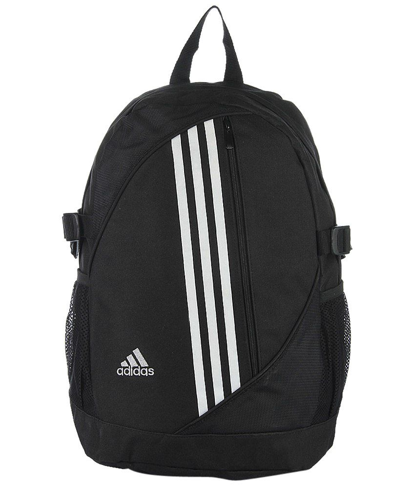 314ae063e1ed9 Adidas Black & White Unisex Backpack - Buy Adidas Black & White Unisex Backpack  Online at Best Prices in India on Snapdeal