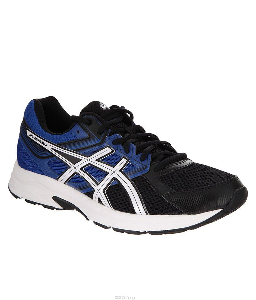 ebb24b186201d Asics Gel Contend 3 Black Sports Shoes - Buy Asics Gel Contend 3 Black Sports  Shoes Online at Best Prices in India on Snapdeal