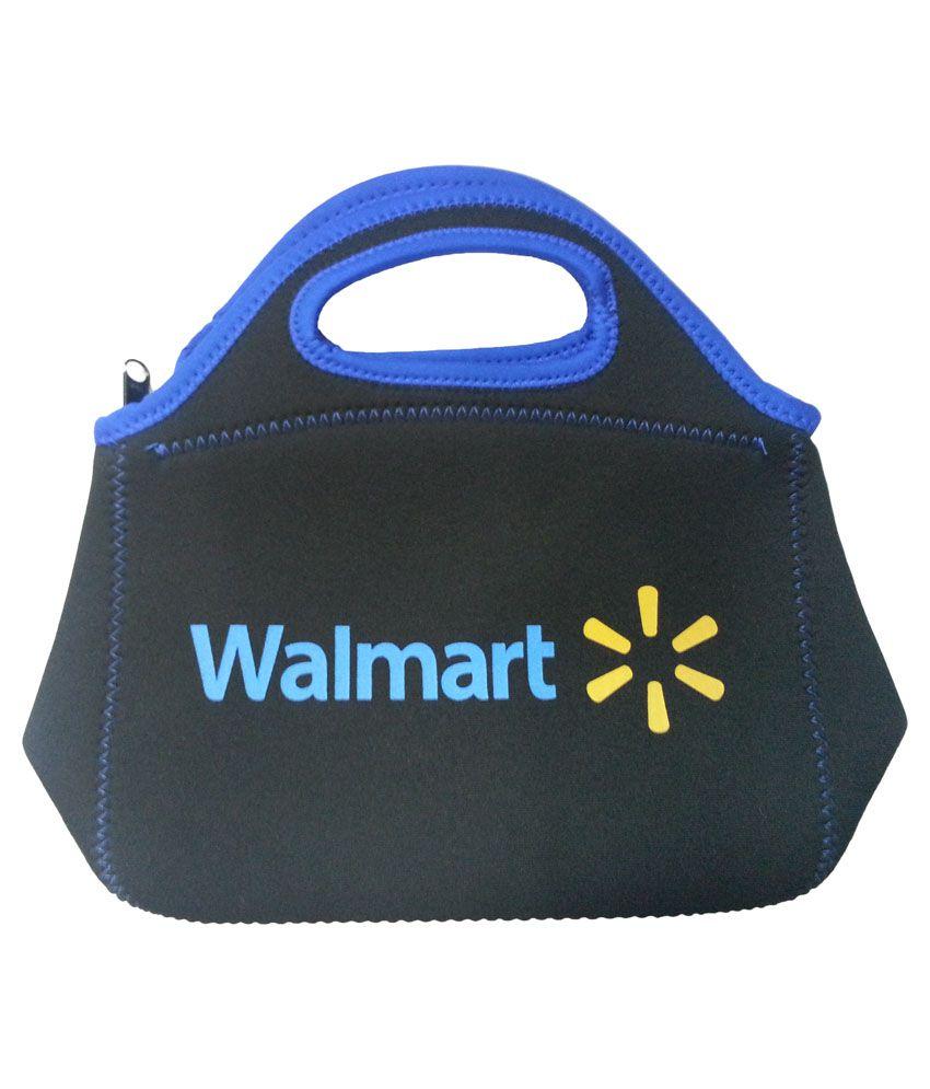Hr Enterprises Black Zipped Lunch Bag