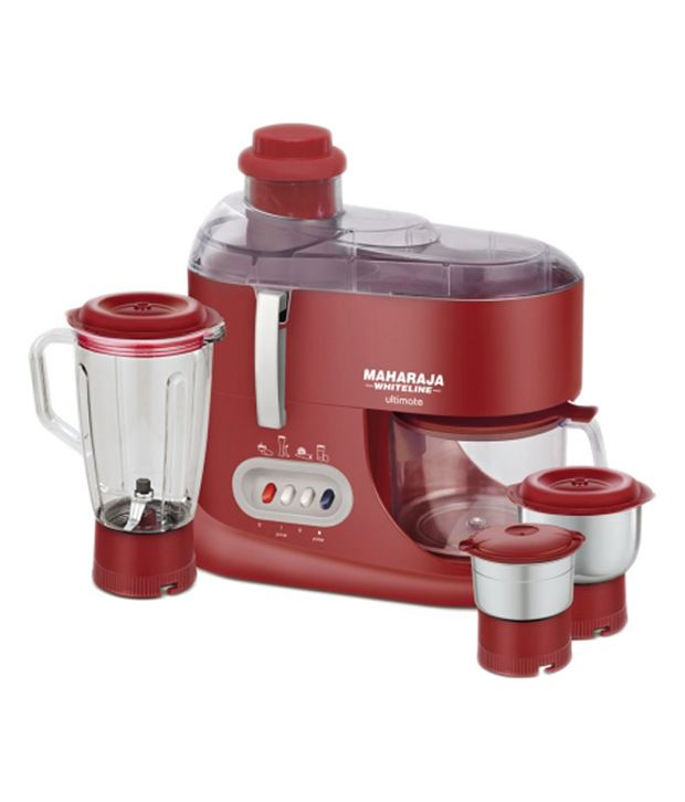 maharaja whiteline jx 101 550 watt 1 jar juicer mixer grinder