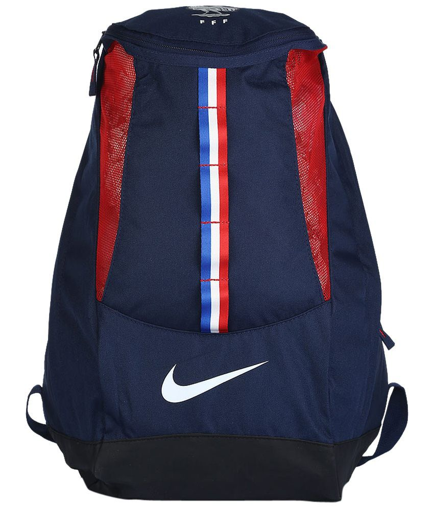 Nike Blue   Red France Shield Backpack for Men - Buy Nike Blue   Red France  Shield Backpack for Men Online at Best Prices in India on Snapdeal 04379eca13388