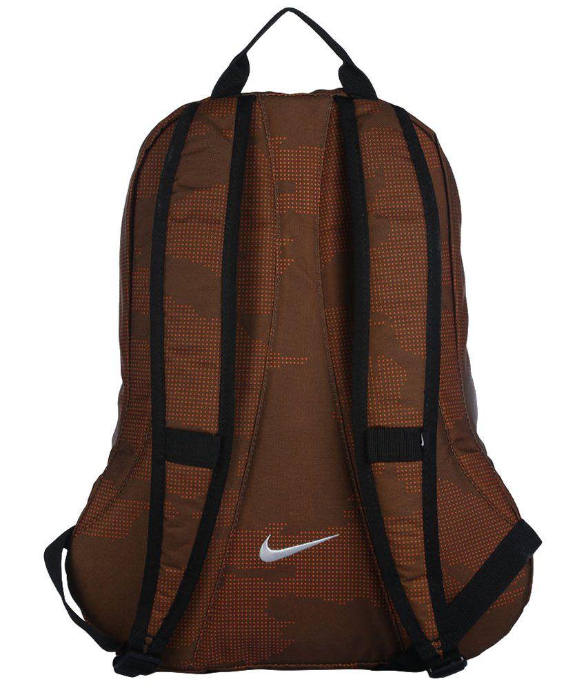 9621556f9be Nike Branded Backpack Laptop Bag College Bag Brown & Black