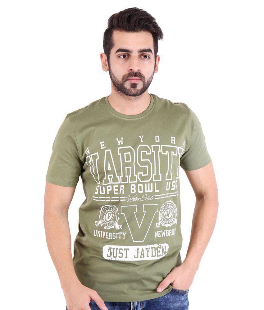 Nimbus Brown Cotton T Shirt