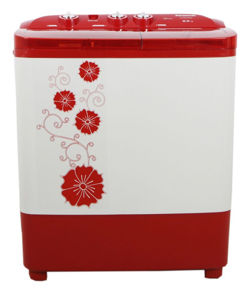 Panasonic 6.5 Naw 65 B3 Rrb Semi Automatic Top Load Washing Machine Red