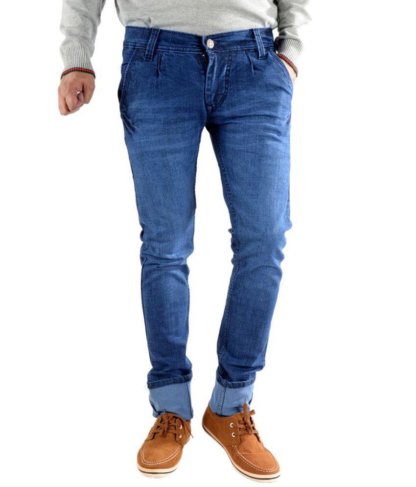 K' Lives Blue Regular Fit Jeans