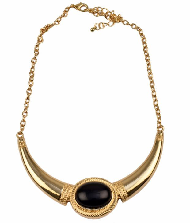 Shamoda Black Designer Necklace
