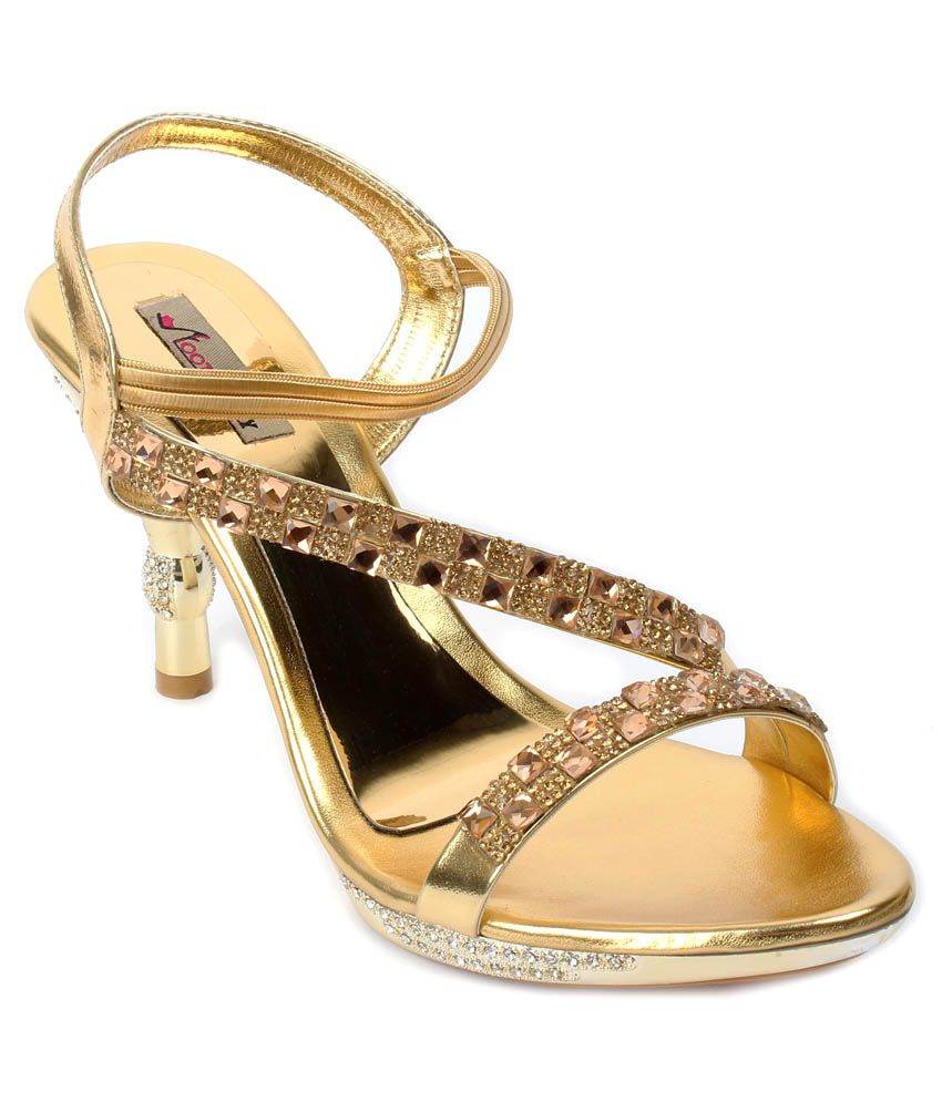 Foot Candy Gold Ethnic Sandals