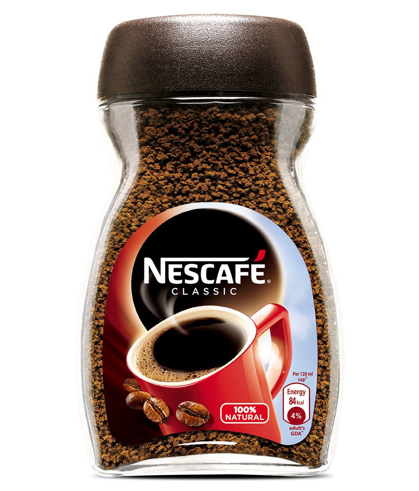 Who Needs Cash? Pay Online Upto 30% On Nestle Products By Snapdeal | Nescafe Classic Coffee Glass Jar- 50 gm @ Rs.110