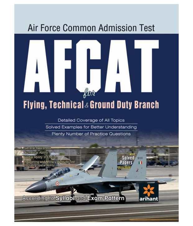 AFCAT (Air Force Common Admission Test) (E) Paperback ...