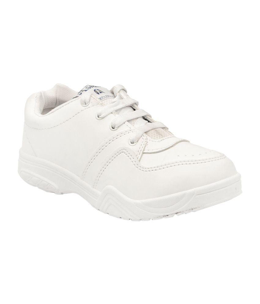 asian white school shoes for boys price in india buy