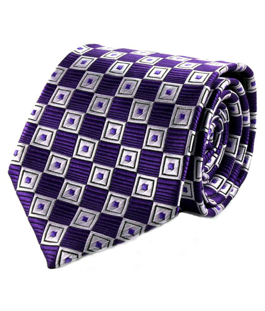 Dynamo Multicolour Micro Fiber Formal Broad Tie For Men