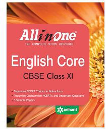 All in One English Core CBSE Class 11th Paperback (English) 2nd Edition 2015