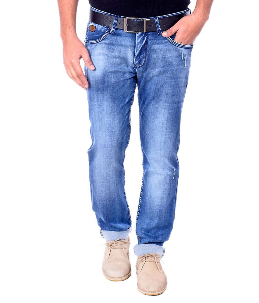 Cpj Overseas Blue Regular Fit Jeans