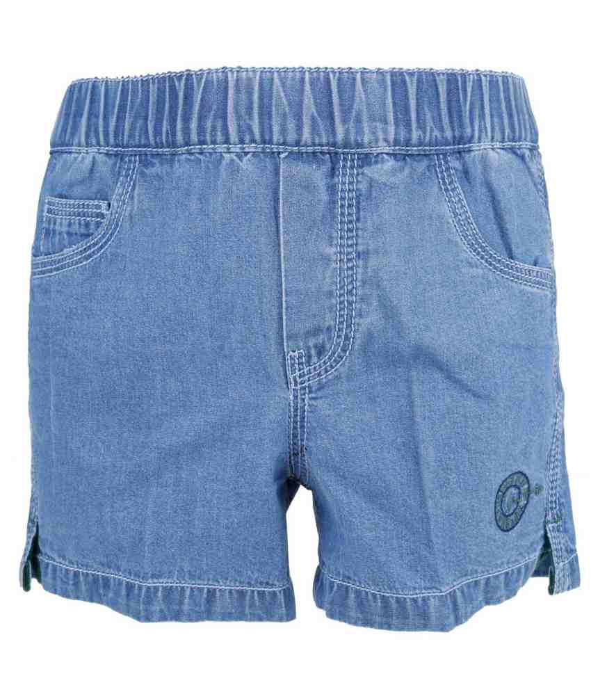 Just-In Blue Shorts For Girls
