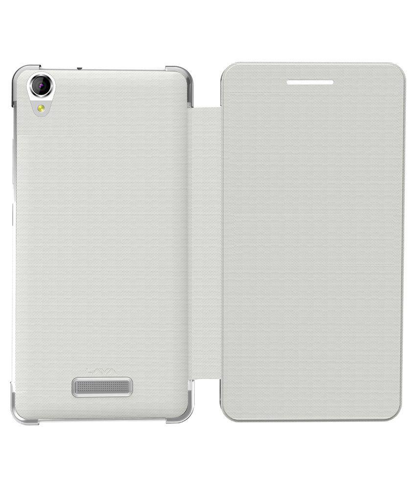 best loved 0d4bf 3e60f Lava Flip Cover Lava Pixel V1 - White