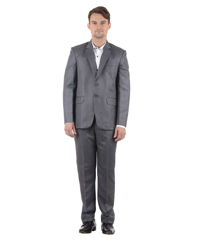 Sisman International Black Formal Suit