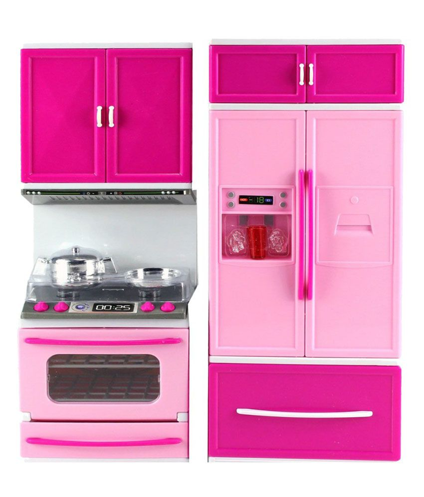 Barbie kitchen set the image kid has it for Kitchen kitchen set