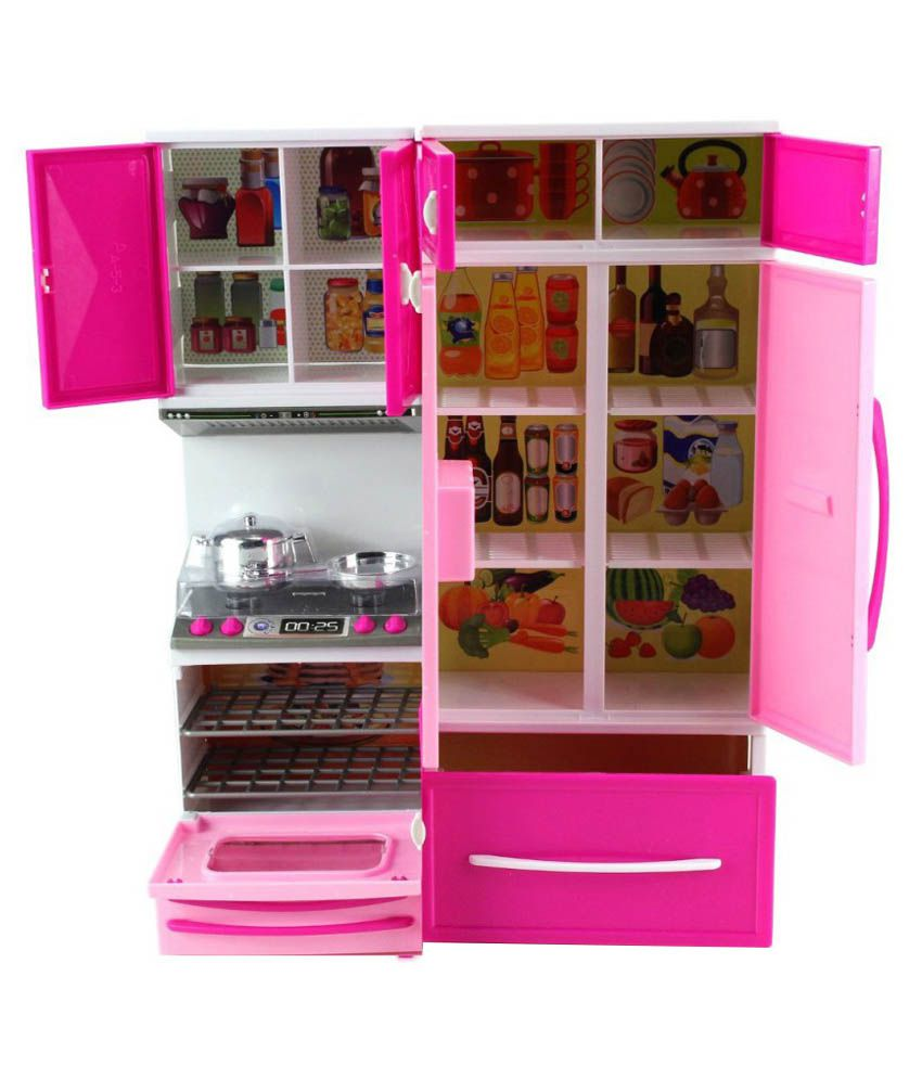 Kitchen Set Online: Surya Pink Barbie Kitchen Set