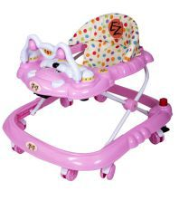 EZ' PLAYMATES BABY WALKER PINK