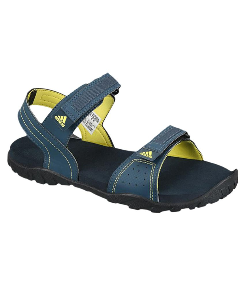 895738d05ef Adidas Blue Floater Sandals - Buy Adidas Blue Floater Sandals Online at  Best Prices in India