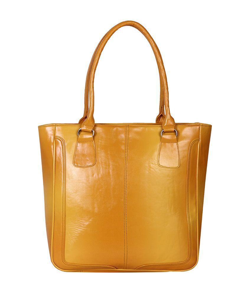 Indiwagon Yellow Tote Bag