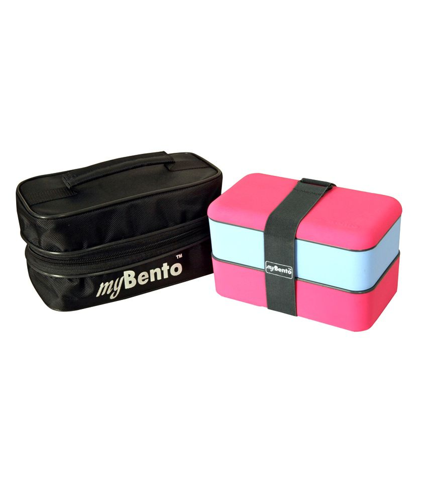 mybento pink 1200ml lunch box set buy online at best price in india snapdeal. Black Bedroom Furniture Sets. Home Design Ideas