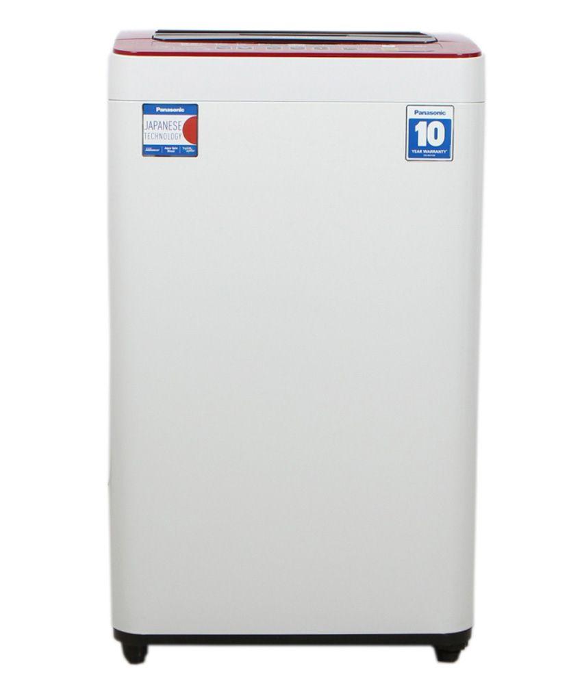 Panasonic 6.2 Naf62h6 Rrb Fully Automatic Top Load Washing Machine Maroon