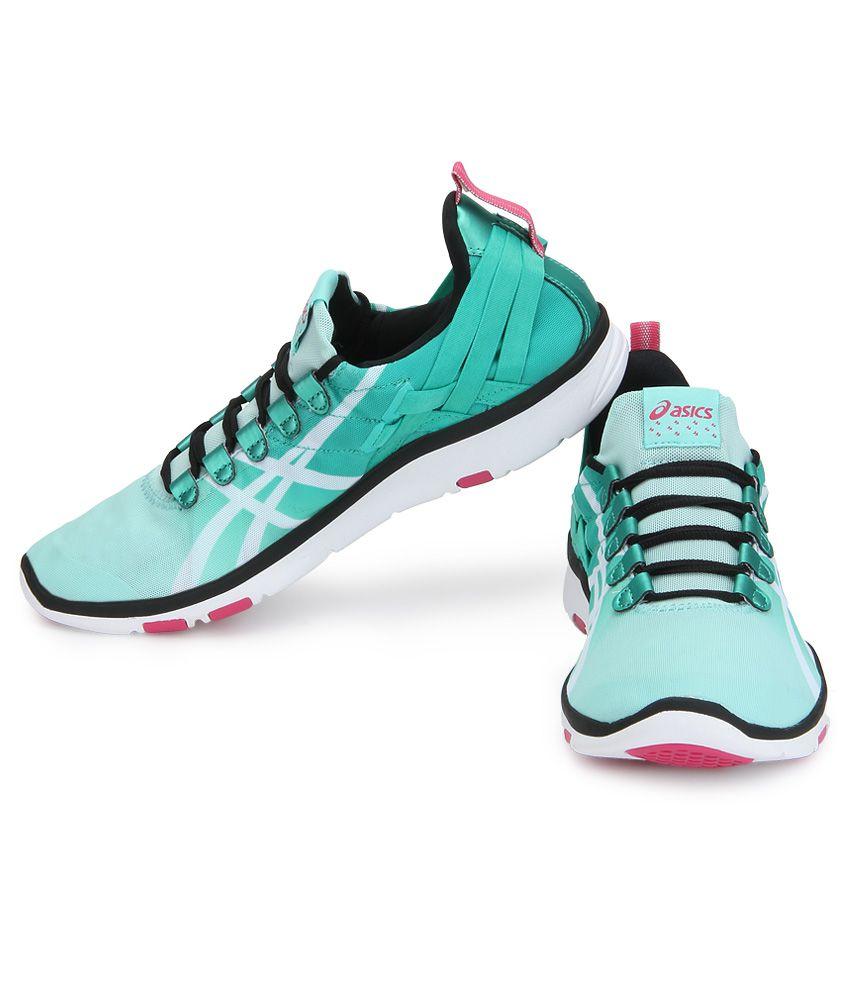 ... Asics Gel Fit Sana Green Sports Shoes ...