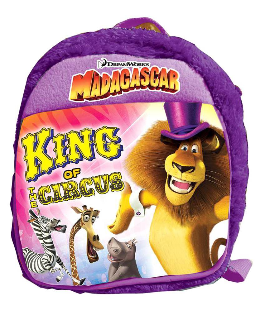 Dreamworks Purple Soft Bag